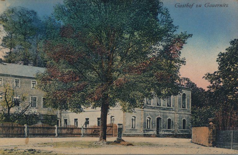 Aus besseren Zeiten: Münchs Gasthof, Postkarte Nr. 20246, Verlag Brück & Sohn, Meißen